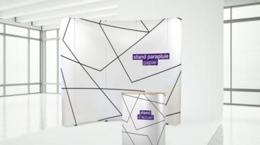Création stand pour foire salon congrès