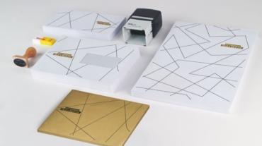 Conception de calendriers, enveloppes, tampons