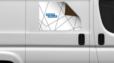 Marquage vitrine ou voiture Agen